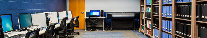 Research equipment inside the CPES Computer Lab.