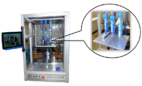 Image of 3D printer equipped with multi-extruder