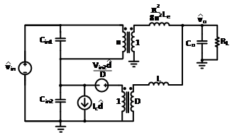 Image of small-signal model of the sigma converter.