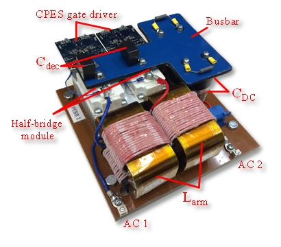 Image of hardware prototype of PEBB