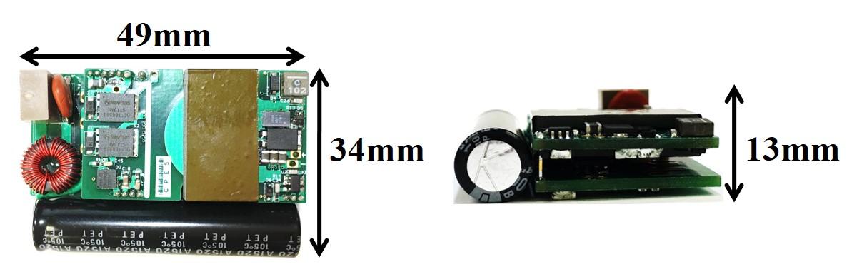 Image of MHz 45W adapter prototype