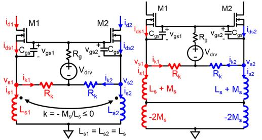 Passive topology and equivalent circuit