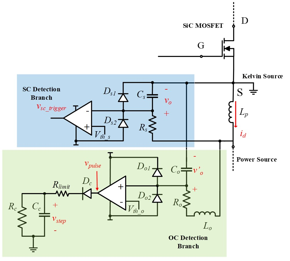 Image of overcurrent detection circuit