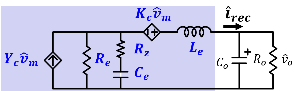 Simplified small-signal model