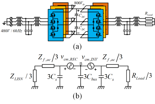 Circuit diagram and equivalent model