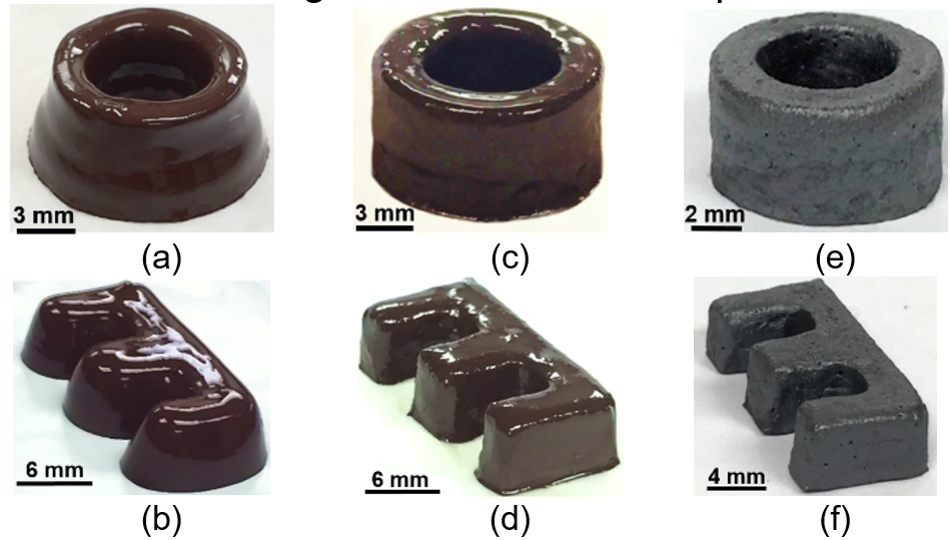 3D-printed cores