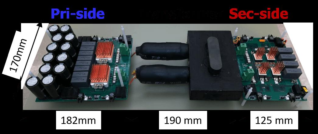 Hardware prototype of CLLC resonant converter