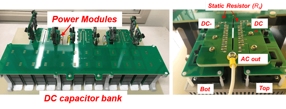 PCB based modular planar bus assembly