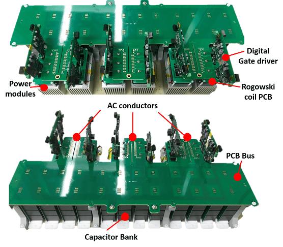 16 kV, 200 kW rated three-phase converter