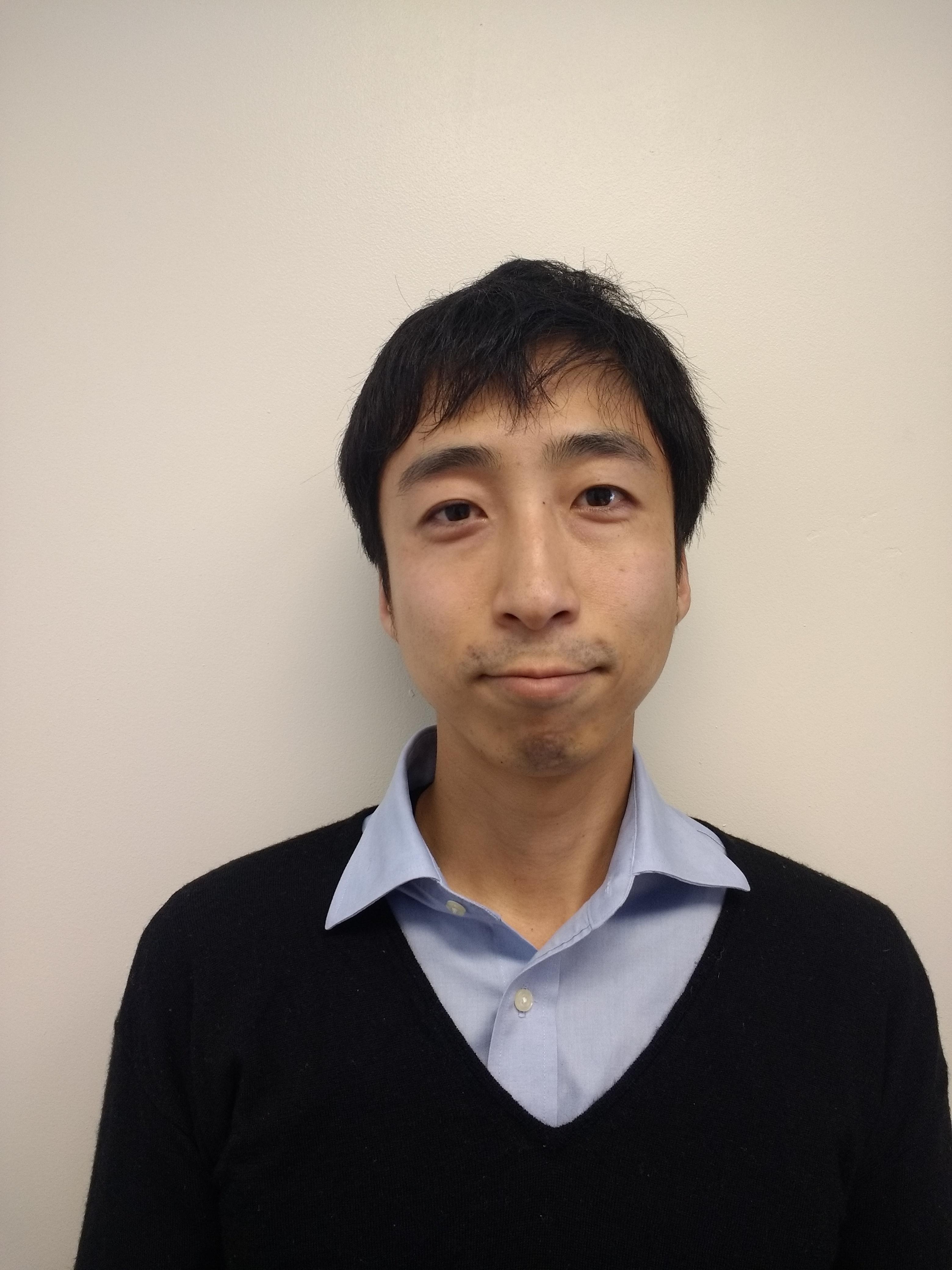Photograph of Takeya Okuno