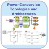 Icon showing equipment used in power conversion topologies and architectures.