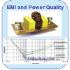 Icons showing equipment used in EMI and power quality